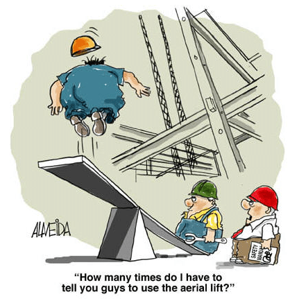 Safety Cartoons Free Safety Risk