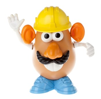 Mr. Potato Head - Construction Worker Frontal